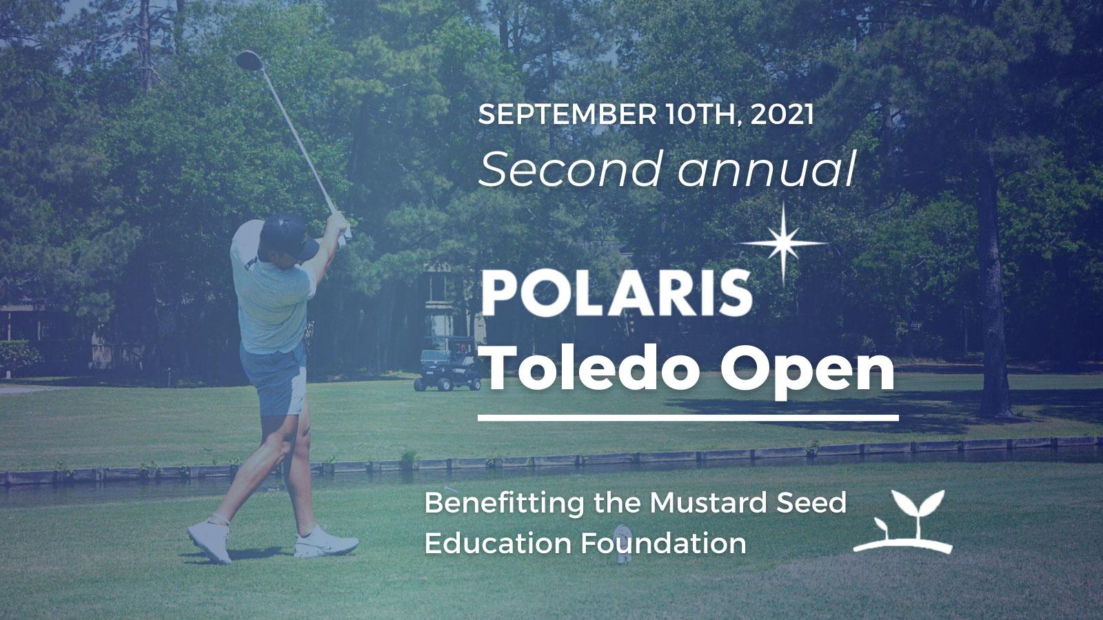 Polaris Open Golf Outing flyer